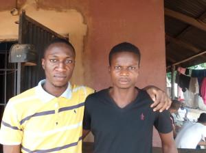 Bubemi Ekengbuda and Efe Obasuyi