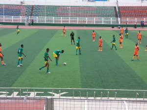 Efe Obasuyi on the big stadium