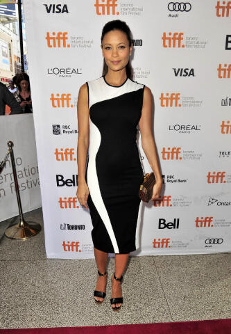 Thandie Newton in Stella McCartney