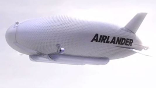 THE WORLDS BIGGEST AIRCRAFT THE AIRLANDER