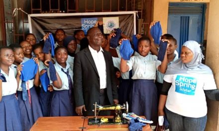 Reusable menstrual pad a solution to school abseenteeism