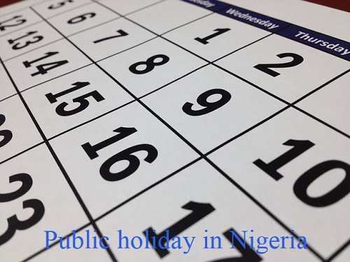 Public Holiday and Important Events Calendar in Nigeria