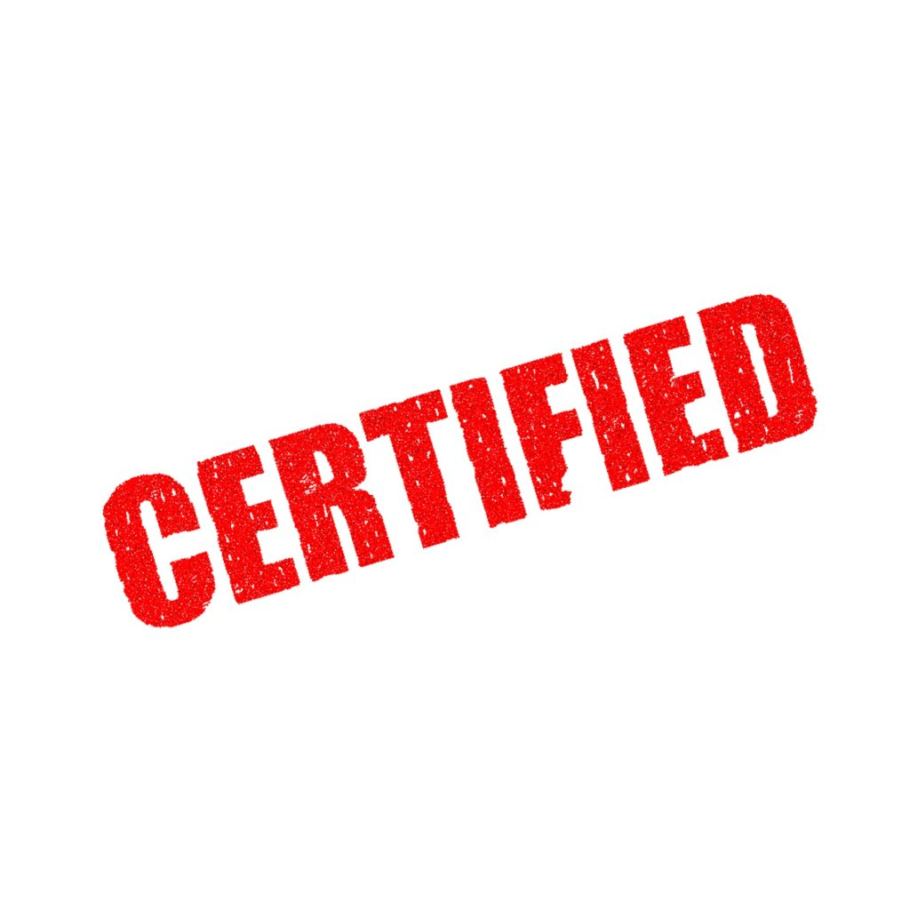 Authentication and certification services