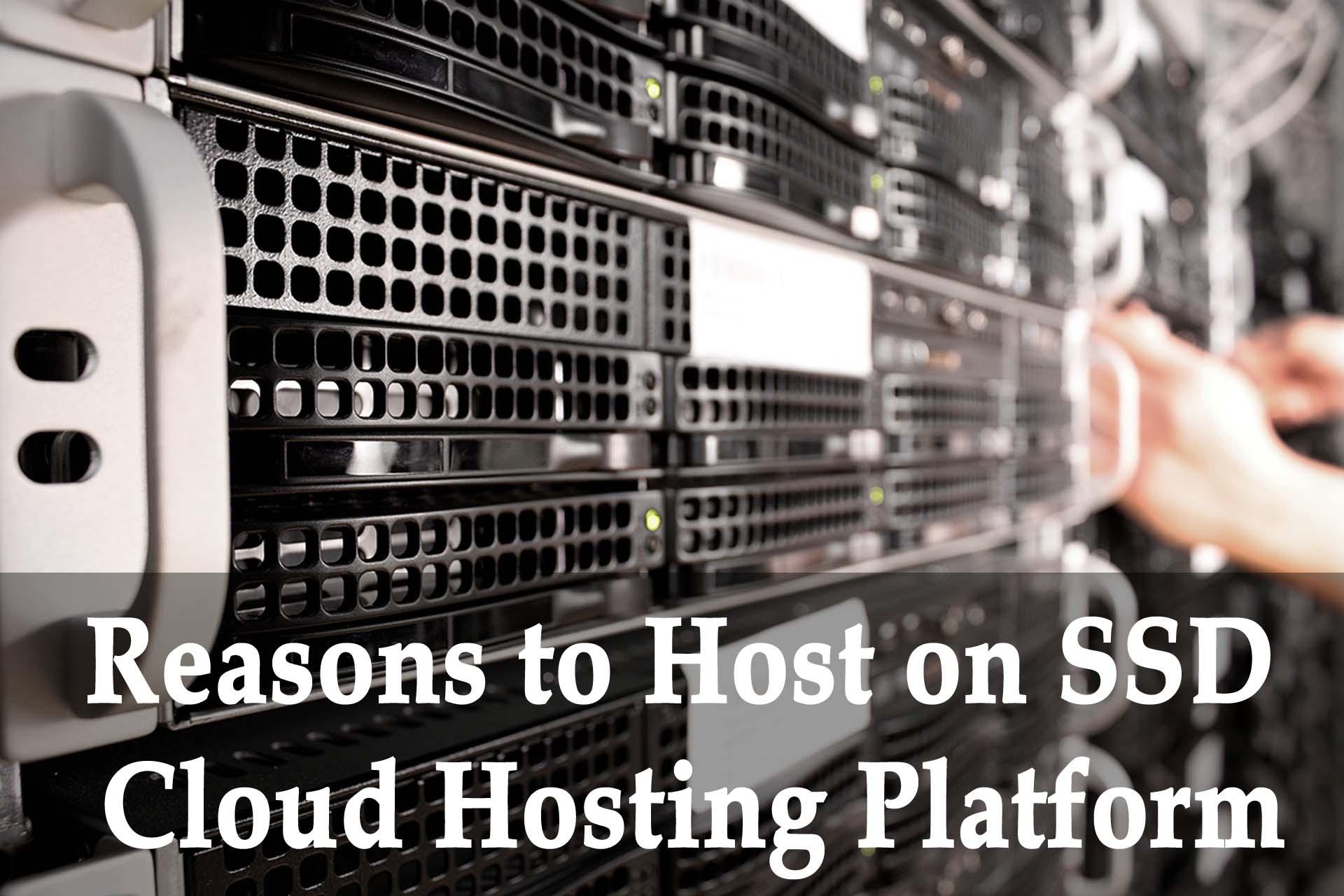 10 advantages of SSD cloud web hosting
