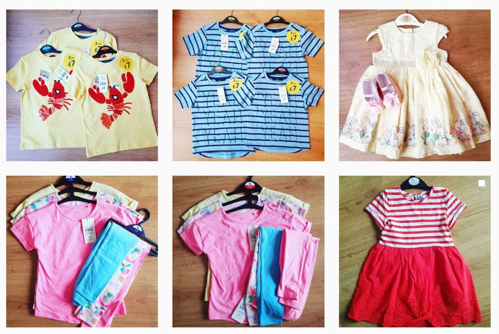 Baby clothes UK to Nigeria