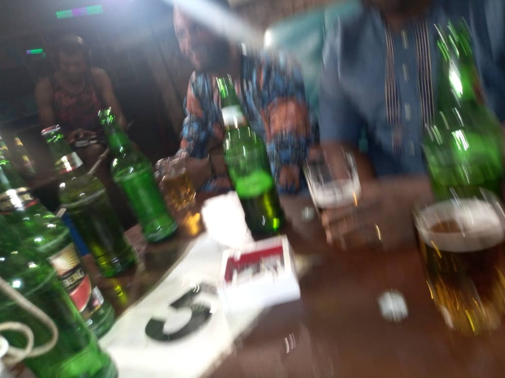 Alcohol - #1 Nigerian coping mechanism