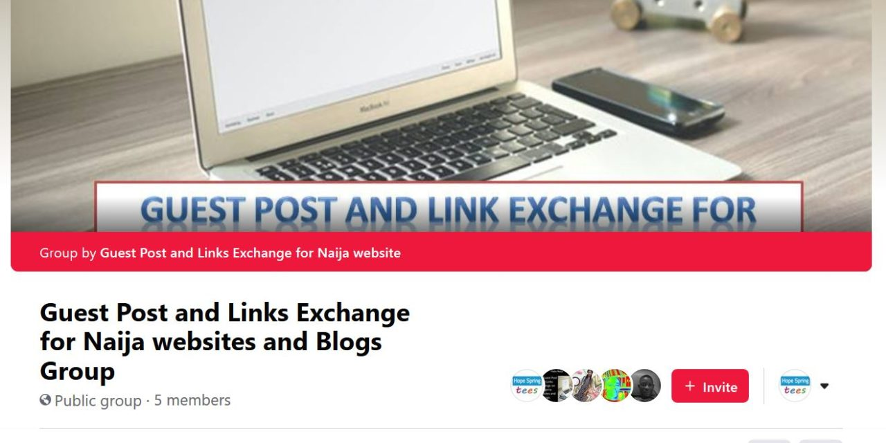 Grow your website backlink with Naija link exchange group