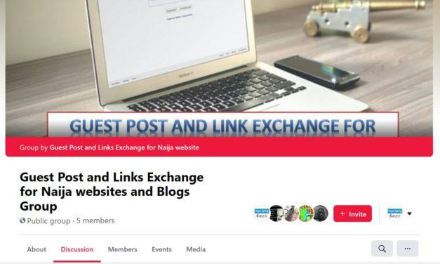 Grow your website backlink with Naija link exchange group