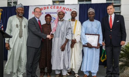 U.S honors cleric who saved christian during attacks in Jos