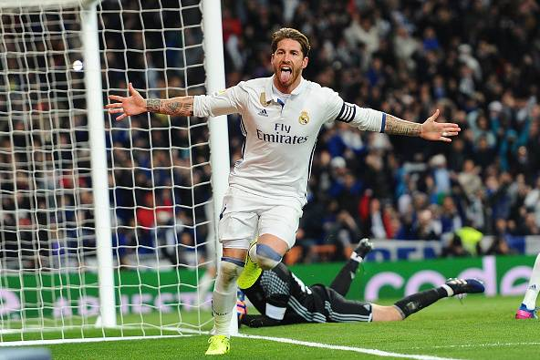Ramos scores Penalty as Real Madrid wins Getafe